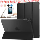 "For Apple iPad 9.7"" 2017 Slim Leather Folding Magnetic Smart Case Cover Stand"