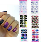 1pc Nail Art Water Transfer Stickers Flower Wraps Foil Decal Tips DIY Manicure