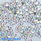 Lot 1440pcs Flat Back Nail Rhinestones Glitter Diamond 3D Tip DIY Decor Modish