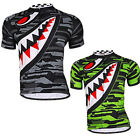 Mens Cycling Bike Jerseys Breathable Custom Outdoor Bicycle Wear Tops Clothing