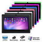 "7"" Tablet Pc Quad Core Google Android 4.4 Kitkat 8gb Bluetooth Wifi"