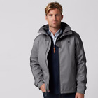 Timberland Men's MT. Crescent Fleece Lined Waterproof Jacket A1COT Gray XL