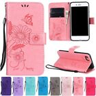 Stand Wallet Flip Leather Lanyard Pattern Case Cover For iPhone 6 6S 7 Plus