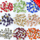 72/288p ss30 Round color Point foiled Back Crystal glass Rhinestone Nail Art Gem