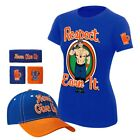 John Cena Respect Womens WWE Baseball Hat Headband Wristbands Costume T-shirt