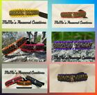 Custom Made Browning Dog Collar. Made to order - Adjustable - All Sizes