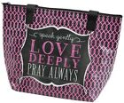 OCASSIONALLY MADE LUNCH BAG LOVE DEEPLY TOTE INSPIRATION GORCERY BAG SHOPPING