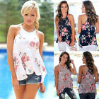 Fashion Women's Summer Loose Top Sleeveless Blouse Ladies Casual Tops T-Shirt
