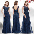 Ever-Pretty Lace Evening Formal Gown Party Flower Long Prom Cocktail Dress 08823