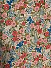 Soft Printed Felt Fabric A4 Patchwork Vintage Bow Maker Glitter Pink Green White