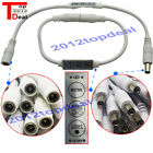 3 Key 6A with DC12/24V Mini Led Dimmer Controller Control Single Color Led Strip