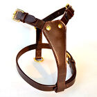 New Leather Dog Plain Harness in all sizes