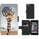 Phone Card Slot PU Leather Wallet Case For Apple iPhone giraffe Nuclear explosio