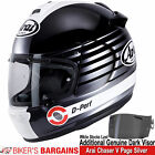 """Arai Chaser V """"Page Silver"""" Was £399.99 - Now £329.99 (Including Dark Visor)"""