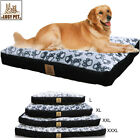 Waterproof Dog Beds PP Cotton Padded Soft Dog Sofa Mat w/ Replacement Cover XL-M