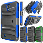 For Samsung Galaxy Mega 6.3 Refined Phone Cover Belt Clip Holster Slim Hard Case