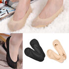 Women Fake Socks No Show Socks Foam Cushion Liner Silicon Heel Size US 6-8