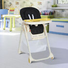 Baby High Chair Infant Feeding Seat Toddler Adjustable Table Recline Foldable
