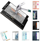 Full Cover Tempered Glass Screen 3D Curved Front Film For Sony Xperia XZS/XA1
