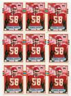 1989 Topps Derrick Thomas #90T Lot of 55 Cards