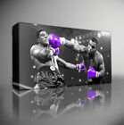MIKE TYSON BOXING - PREMIUM LARGE GICLEE CANVAS ART Choose your size