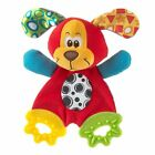 Newborn Baby Kid Bed Hanging Plush Rattle Teether Ring Paper Handkerchief Toy h2