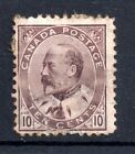 Canada KEVII 1903 10c mint spacefiller SG183 WS5093