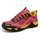 Women Fashion Outdoor Wearable Hiking Shoes Breathable Non Slip Mesh Sport Shoes