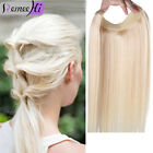"""USA Hot Sale Beauty Hidden Invisible Wire 100% Remy Human Hair Extension 16~24"""""""