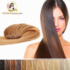 "100% Indian Remy Weft Hair Extensions 18"" 20"" 22"" 24"" Double Drawn 50g 100g"
