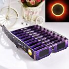 Bulk 10pcs Solar Eclipse Glasses 2017 Galaxy Edition CE and ISO Standard Viewing