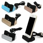 Sync Charging Dock Stand Charger Station Cradle w/Cable for iPhone/Android/TypeC