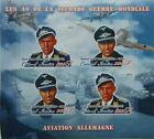 World War II Aircraft Fighter pilots Ivory Coast SET 8 s/s MNH Imperf #P203/210