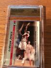 LeBron James Upper Deck Phenomenal Beginning Rookie Card SPA 10