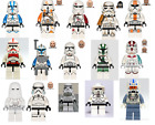 Lego Star Wars mini figures Clone trooper stormtroopers scouts captain wolf pack $9.99 AUD