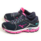 Mizuno Wave Sky Navy/Pink/Green Cloudwave Sportstyle Running Shoes J1GD170263