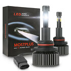 MOSTPLUS 120W 12800LM 4 Sides LED headlight 9006 HB4 HID 6000K White bulbs