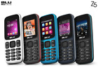 Blu Z3 Music Z150 2G Dual SIM Quadband Unlocked GSM Phone New