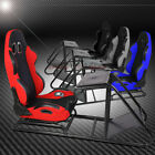 RECLINABLE TWO-TONED WOVEN COCKPIT SEAT RACING GAME SIMULATOR FOR PS3 PS4 XBOX