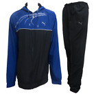 Puma Mens Tracksuit Training Lightweight Navy Track Top Black Pants 834090 01