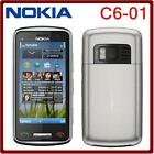 "Nokia C6-01 cell phone 3.2"" Capacitive screen Camera 8.0MP unlocked c6 3G Mobile"