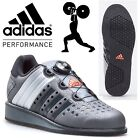 adidas Drehkraft Weightlifting Shoes Grey Mens Power Lifting Gym Trainers