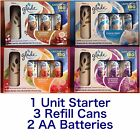 Glade Automatic Spray Starter Kit Air Freshener 1 Unit + 3 Can Refill 18.6oz