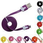 1M FLAT NOODLE MICRO USB DATA CHARGER CHARGING CABLE FOR ANDROID MOBILE PHONE 4