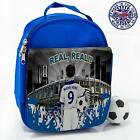 Real Madrid School Lunch Bag Boys Football Insulated Box *Personalised* CF68