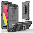 For LG V20 Case, INNOVAA Shockproof Belt Clip Kickstand Holster