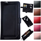 For Samsung Galaxy S5 PU Leather Flip Phone Case Magnetic Zipper Wallet Cover