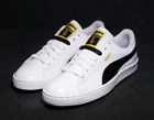 BTS Puma Sneakers Shoes BASKET MADE by BTS White Black Gold 3rd Version Original