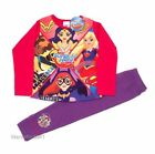 Girls DC superhero long pyjamas - Ages 4/5, 5/6, 7/8, 9/10yrs - Wonder Woman