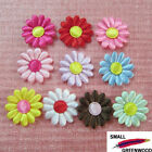 "(U Pick) Wholesale 100-500 Pcs 1-1/8"" Padded Satin Spring Flower Appliques F2500"